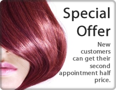 Special Offer - Second appointment half price